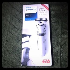 Norelco wet& dry shaver Star Wars limited edition